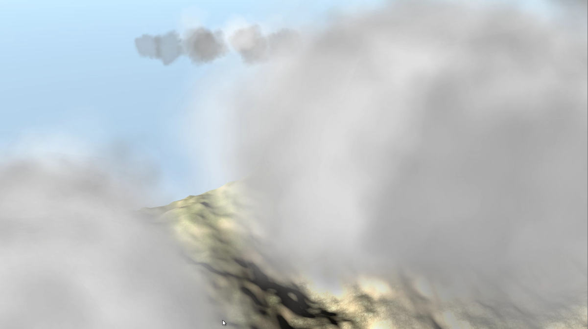 Thermal and Cloud system – Virtual Gliding Game