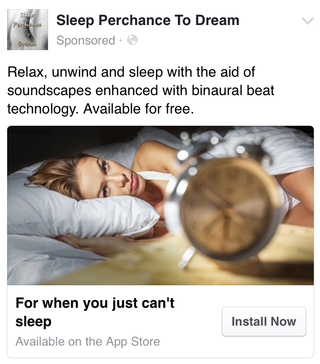 Sleep Perchance to Dream Released