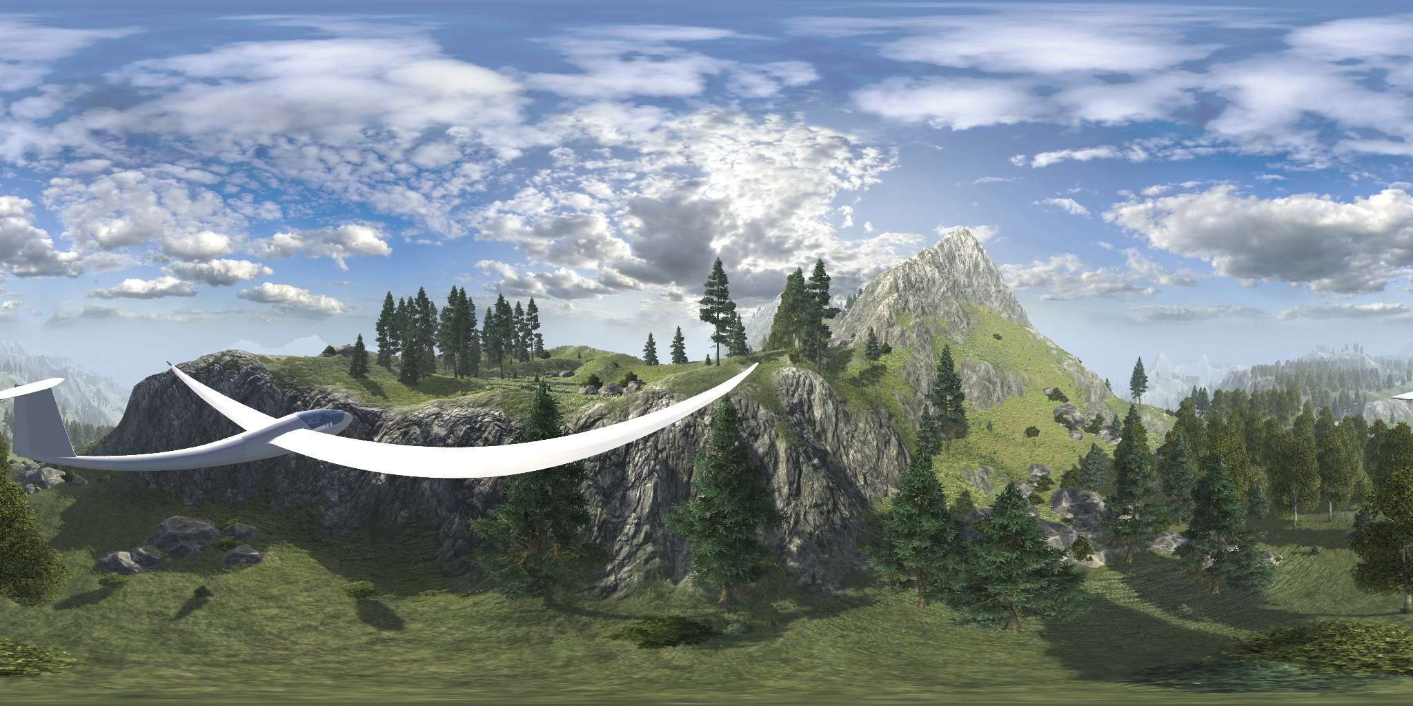 3d video demo released from Virtual Gliding game